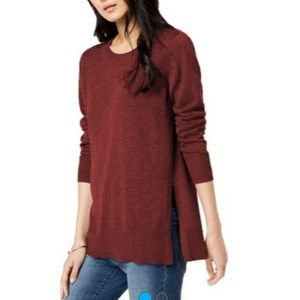 Maison Jules Crew Neck Tunic Sweater